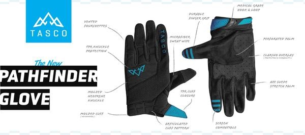 Pathfinder MTB Glove - Gray-3