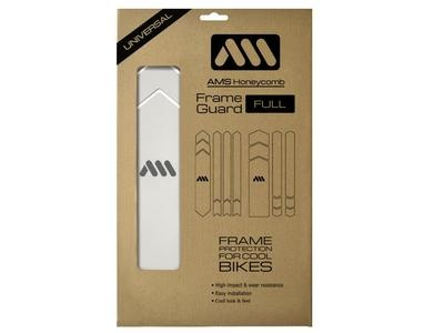 AMS HONEYCOMB FRAME GUARD FULL. CLEAR-1