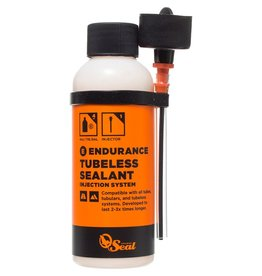 Orange Seal Tubeless Tire Sealant, 8oz Bottle - Injection System