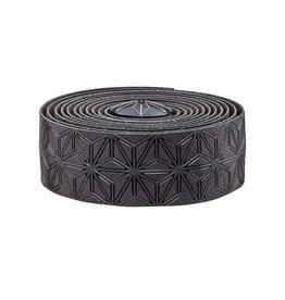 Supacaz Super Sticky Kush Handlebar Tape, Oil Slick w/Blk Plug