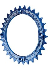 Race Face Race Face Narrow Wide Chainring, 104BCD 30T - Blue