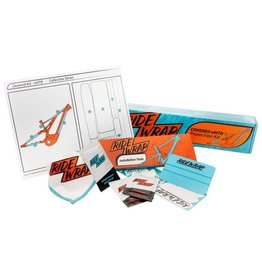 RideWrap RideWrap Covered Dual Suspension MTB Frame Protection Kit - Gloss
