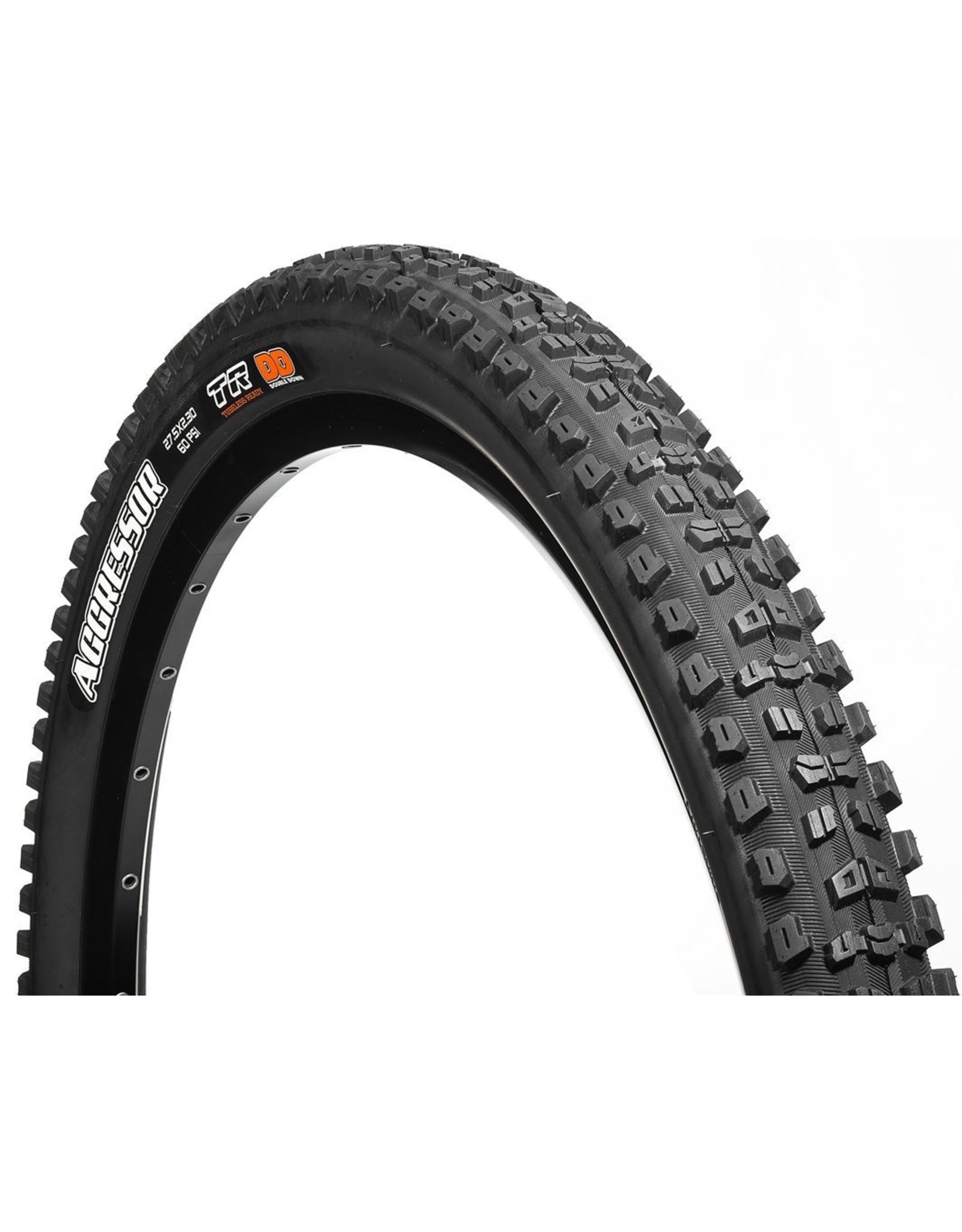 """Maxxis Aggressor Tire, 27.5 x 2.5"""" TR/DC/WT/DD"""