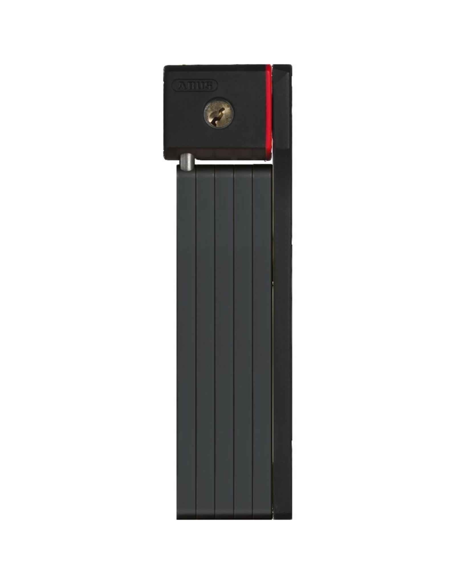 Abus uGrip BORDO™ 5700 - 2.6ft – 5mm steel links - red - w/ SH bracket