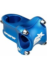 Spank Spike Race 2 Stem, (31.8) 0d x 50mm - Blue