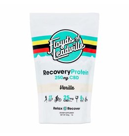Floyd's of Leadville Floyd's of Leadville CBD Isolate Recovery Protein Powder - 250mg, 10 Serving Bag, Vanilla