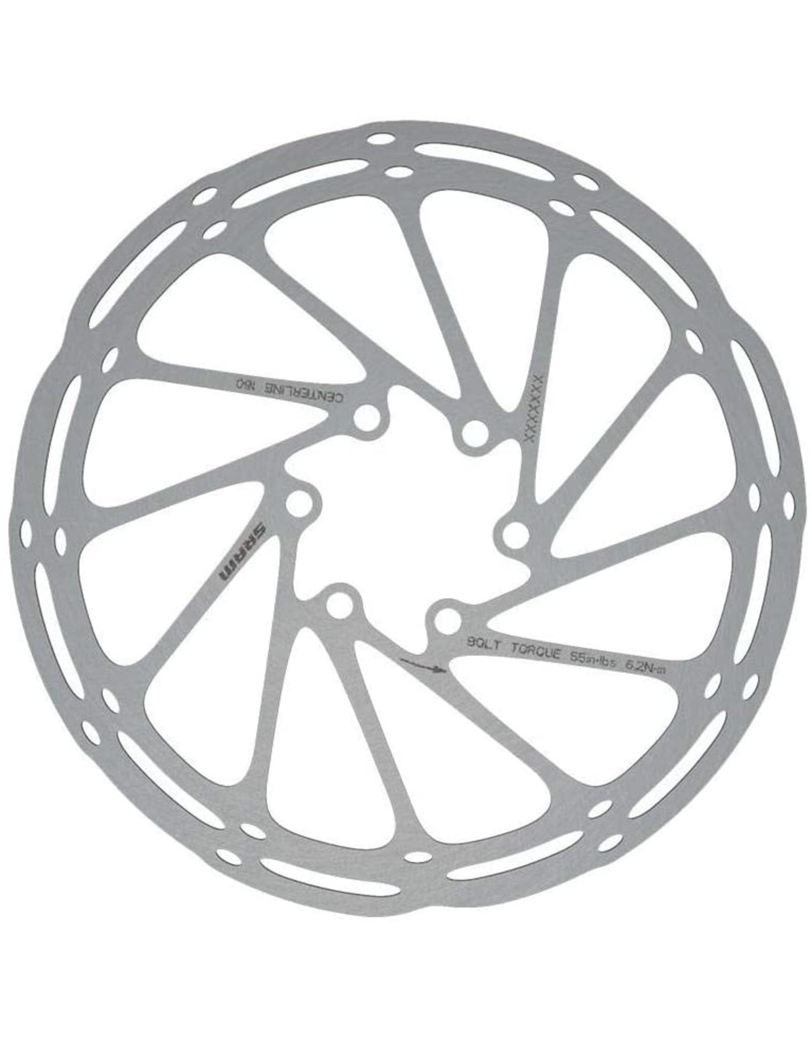 SRAM SRAM CenterLine Disc Brake Rotor - 180mm, 6-Bolt, Silver