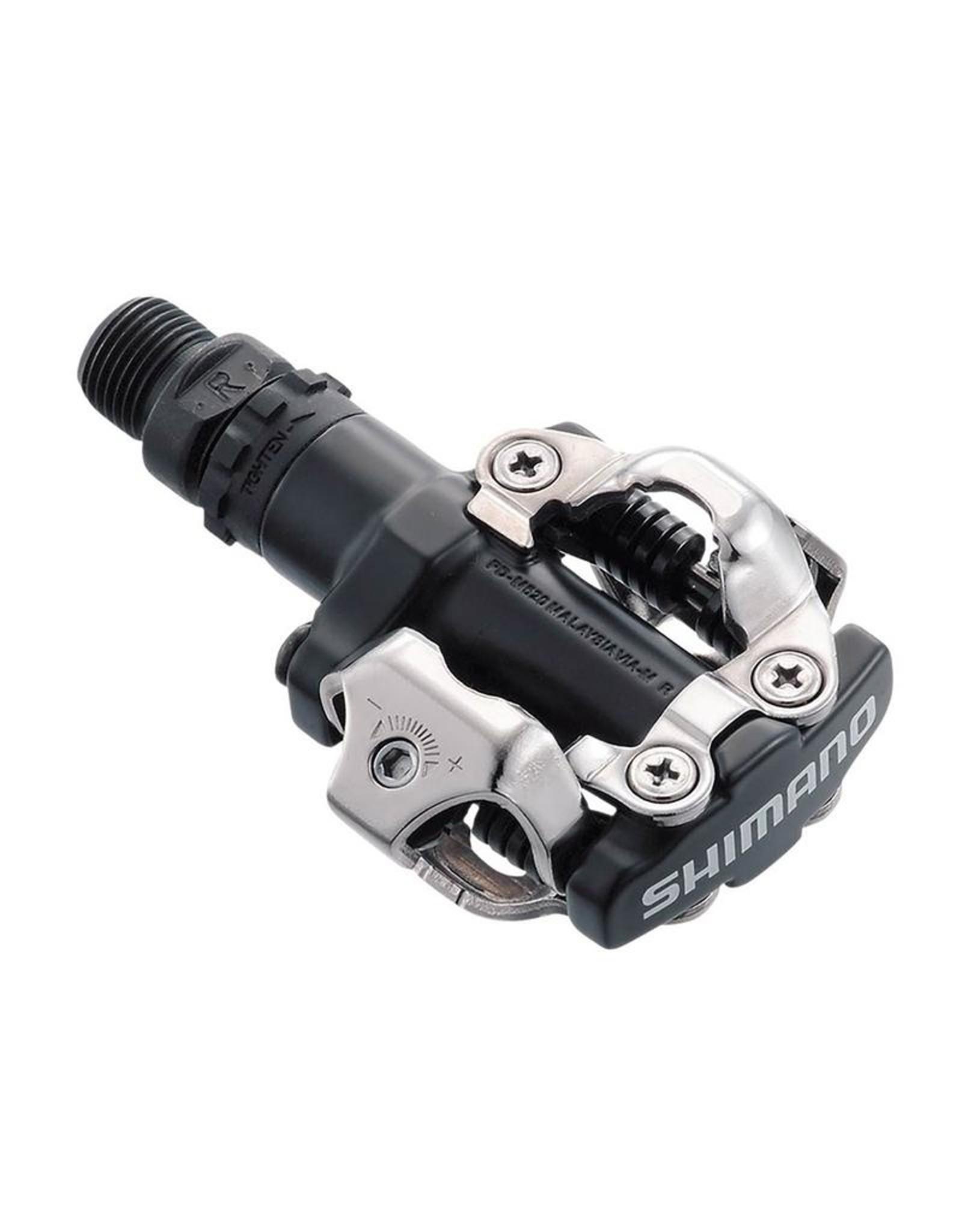 Shimano PD-M520L clipless pedals, black