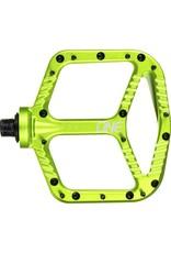Aluminum Pedals- GREEN