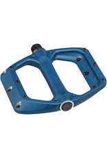 "Spank Spank Spoon DC Pedals - Platform, Aluminum, 9/16"", Blue"