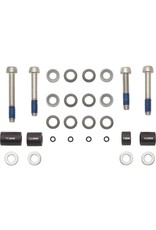 SRAM SRAM/ Avid 20mm Post-Mount Disc Caliper to Post Mount Frame/Fork Adaptor with Stainless Bolts Kits for Regular and CPS Calipers