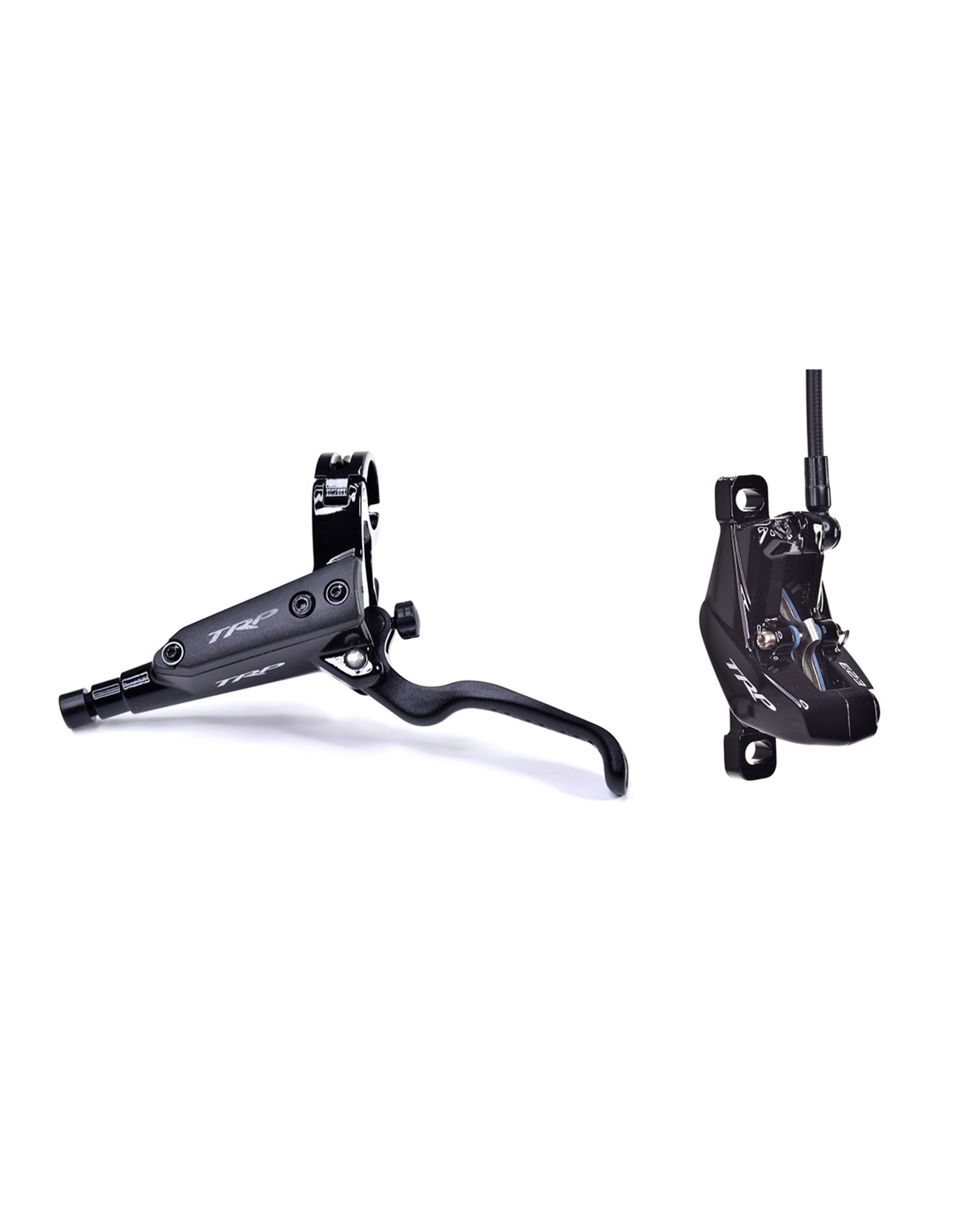 TRP G-Spec DHR Disc Brake and Lever - Front, Hydraulic, Post Mount, Black