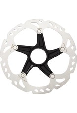 Shimano Shimano Deore XT RT-MT800-L Disc Brake Rotor with External Lockring - 203mm, Center Lock, Silver/Black