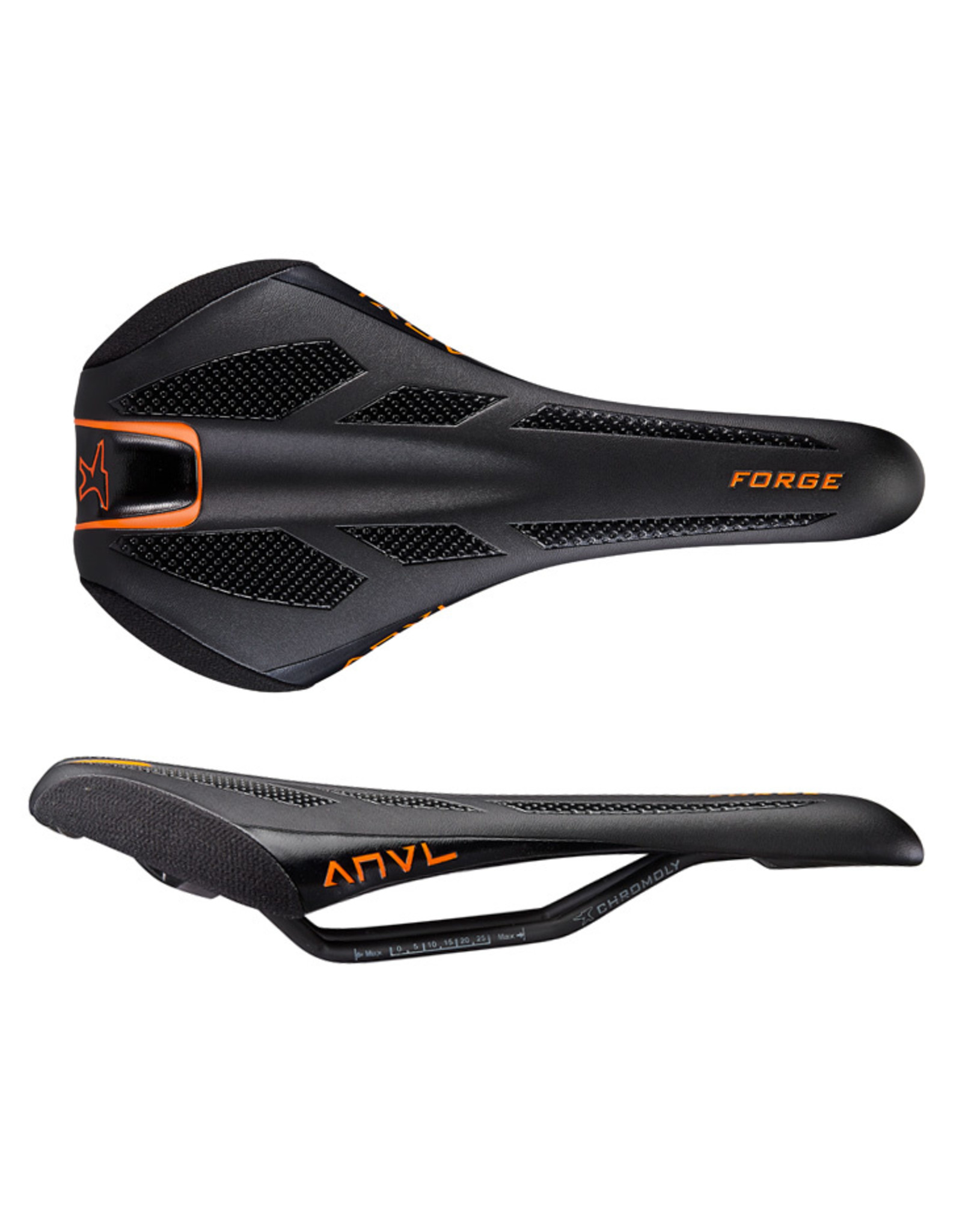 Anvl Anvl Forge Saddle, CrMo - Orange