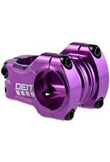 "Deity Components Deity Components Copperhead Stem - 35mm, 31.8 Clamp, +/-0, 1 1/8"", Aluminum, Purple"