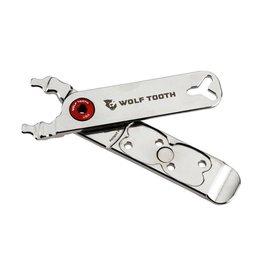 Wolf Tooth Components Wolf Tooth Components Master Link Combo Pliers, Nickel/Red