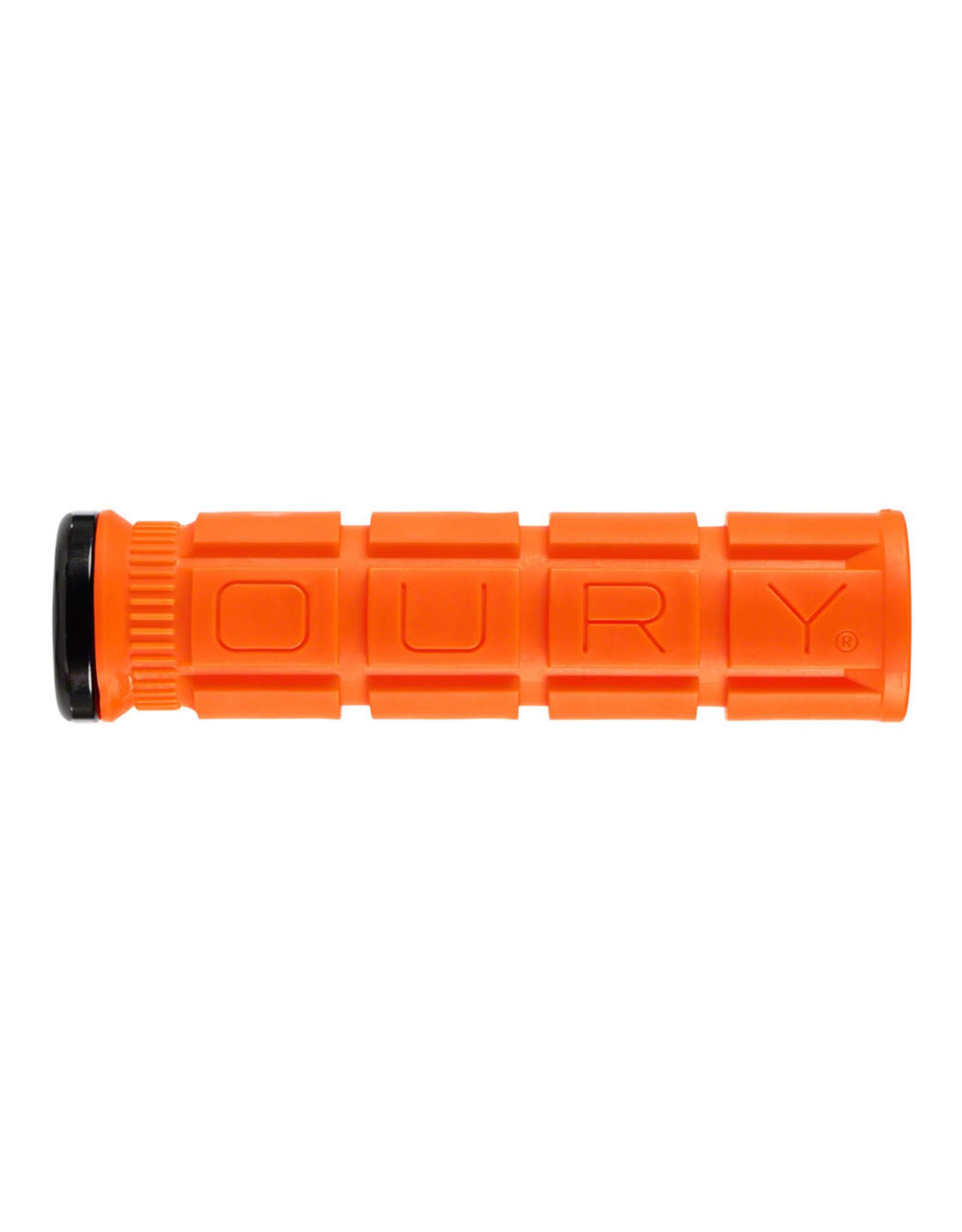 Oury Single-Sided V2 Lock-On Grips - Blaze Orange