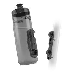 Fidlock Fidlock BottleTwist Water Bottle w/Overmold, 20oz - Smoke