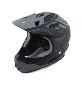 Kali Kali Zoka Eon Full Face Helmet, Blk/Gry - S