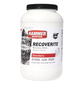 Hammer Nutrition Hammer Recoverite: Strawberry 32 Servings