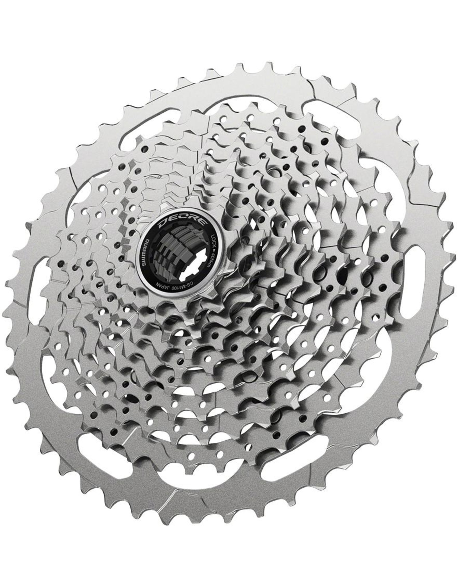 Shimano CASSETTE SPROCKET, CS-M4100, 11-46T, DEORE, 10-SPEED