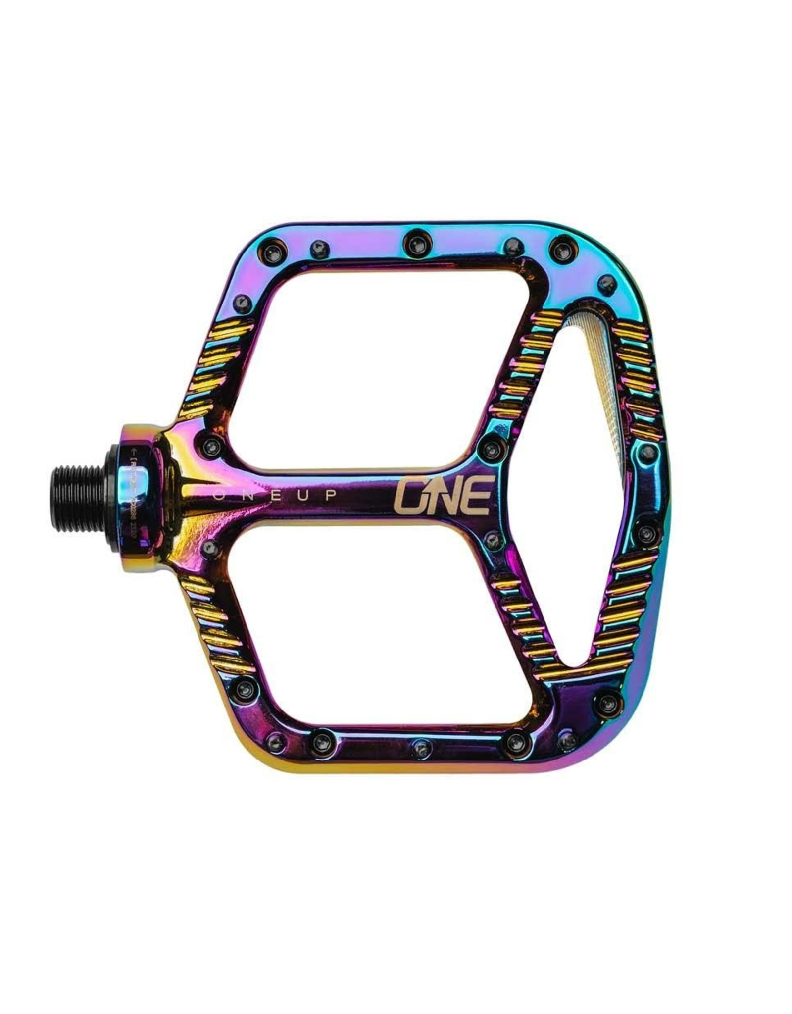 OneUp Components OneUp Components Aluminum Platform Pedals, Oil Slick