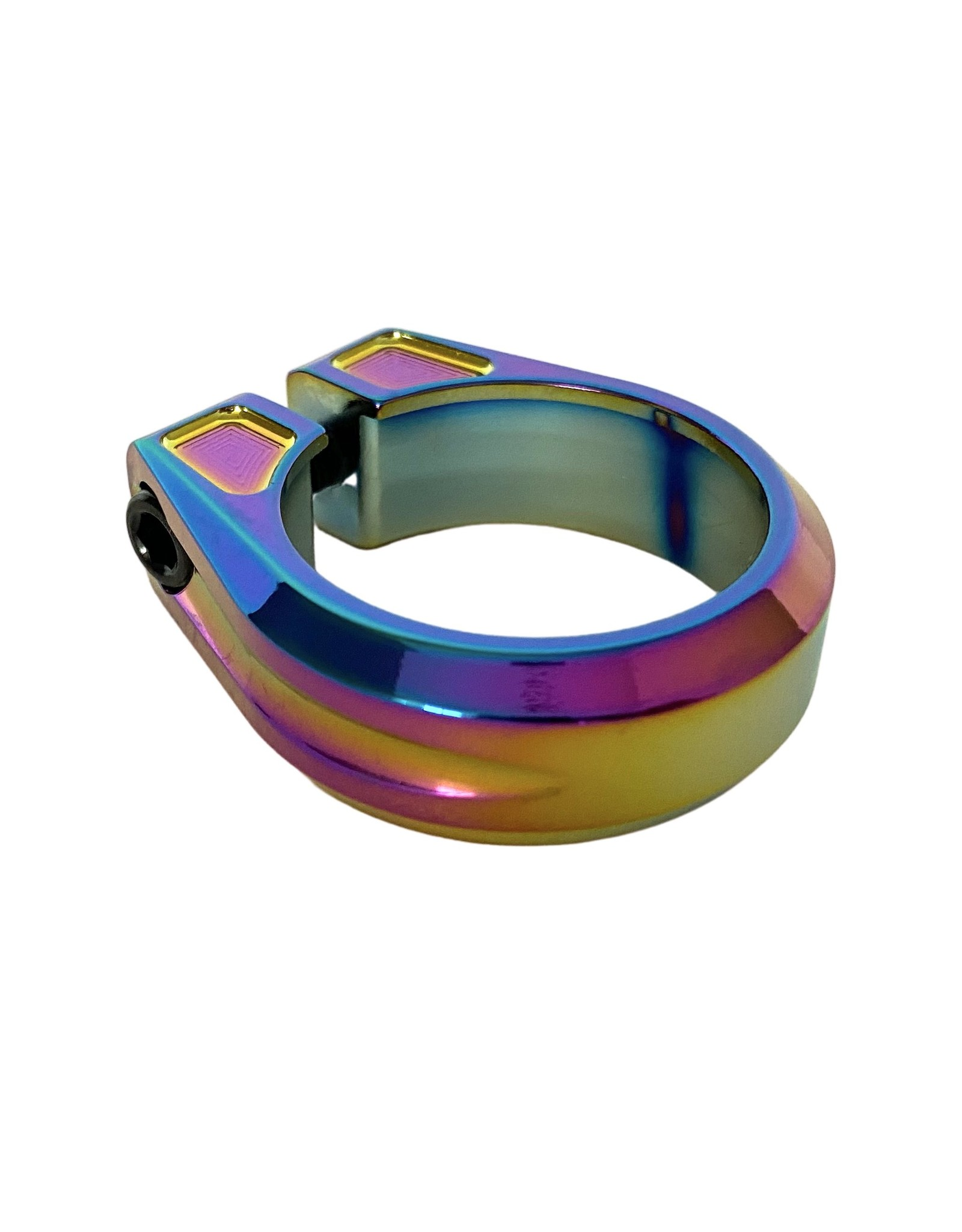 Canfield Bikes Canfield Limited Edition Oil Slick Seatpost Clamp Load image into Gallery viewer, Canfield Limited Edition Oil Slick Seatpost Clamp Load image into Gallery viewer, Canfield Limited Edition Oil Slick Seatpost Clamp Canfield