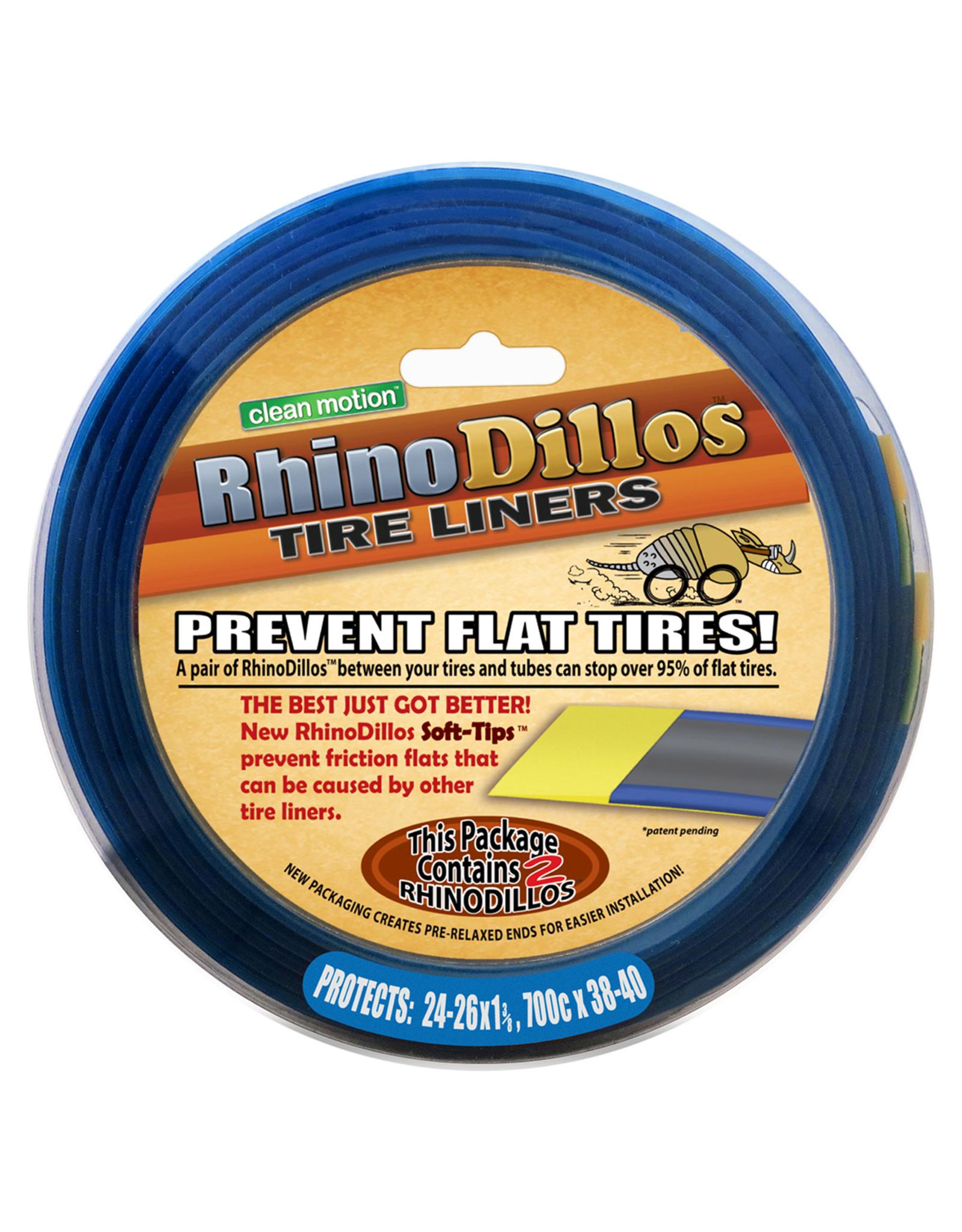 Rhinodillos Rhinodillos Tire Liner: 700 x 38-40, Pair