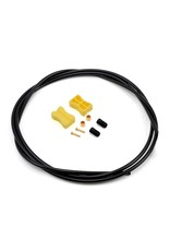 Shimano DISC BRAKE HOSE, SM-BH59-JK-SS,FOR ST-RS685/BR-RS785, 1700MM BLACK, STRAIGHT-STRAIGHT TYPE, W/CONNECTING UNIT, W/TL-BH61