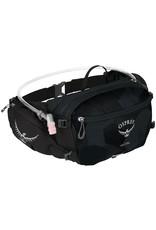 Osprey Osprey Seral Lumbar Hydration Pack: Obsidian Black, Includes 1.5L Reservoir
