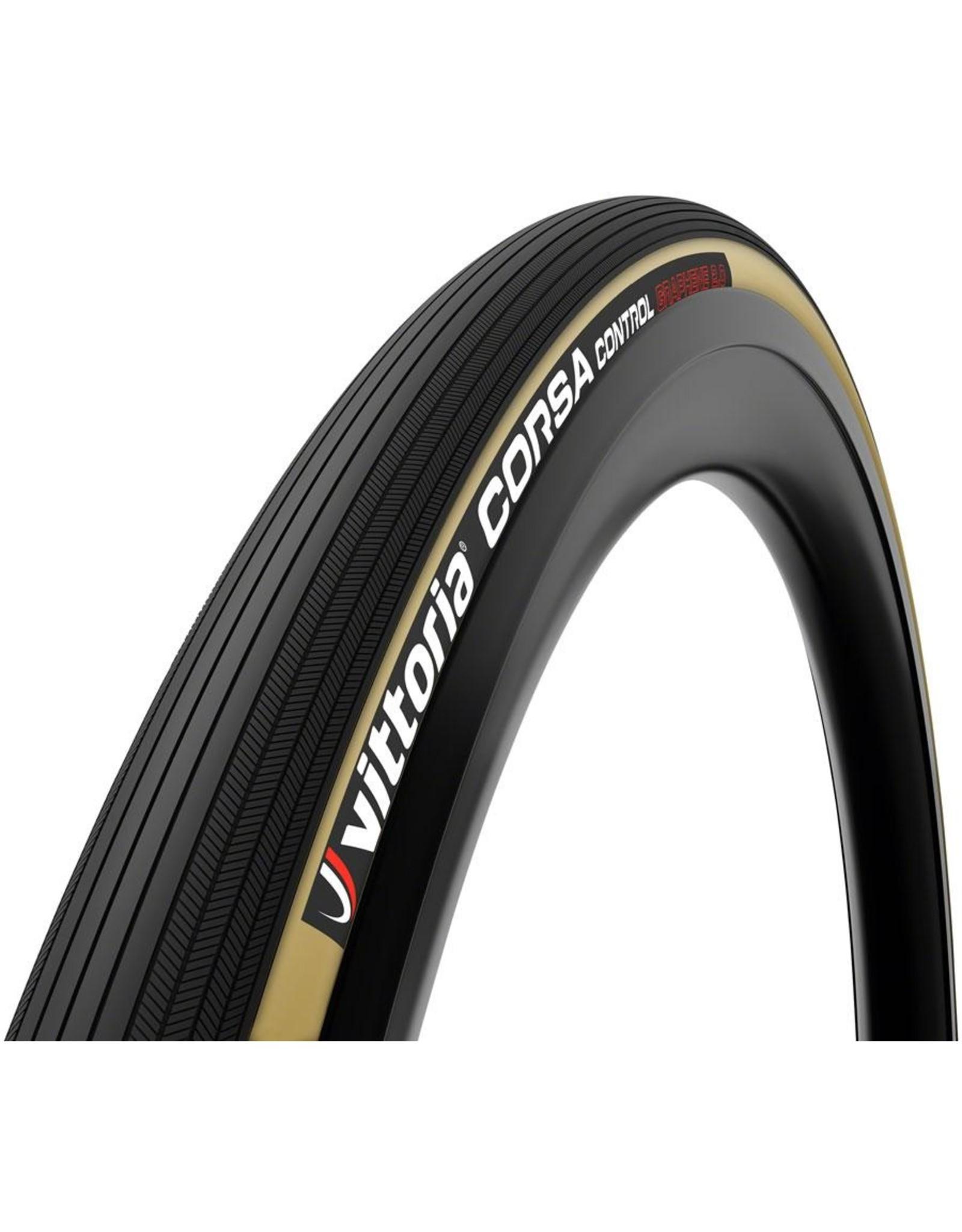 Vittoria Vittoria Corsa Control G2.0 Tire - 700 x 28, Clincher, Folding, Black/Para, 320tpi