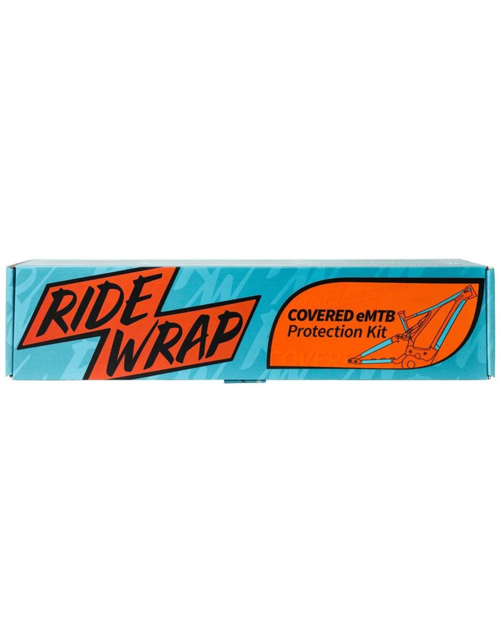 RideWrap RideWrap Covered Dual Suspension MTB Frame Protection Kit - Matte