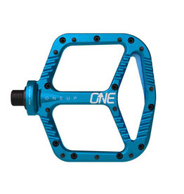 OneUp Components ONE UP Aluminum Pedals- BLUE