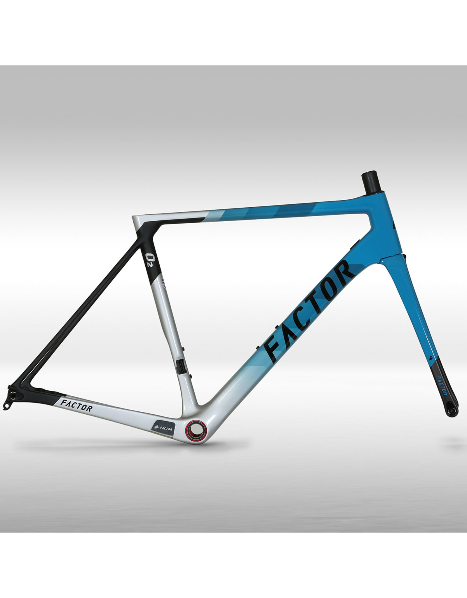Factor Factor O2 Custom Build - 56cm - Miami Blue
