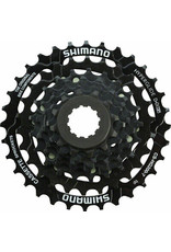 Shimano Shimano Tourney CS-HG200 Cassette - 7 Speed, 12-32t, Black