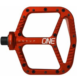 OneUp Components ONE UP Aluminum Pedals- RED