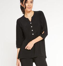 Sympli In Stock Charm Henley *Metal Buttons*