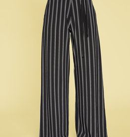 Sympli In Stock Wide Leg Trouser *Stripe*