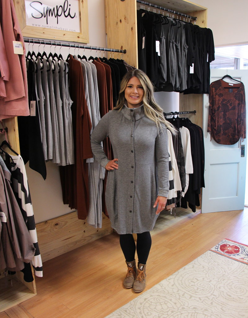 Fenini Bubble Button Coat