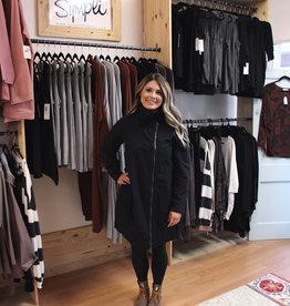 Fenini *SALE* Offset Zip Coat
