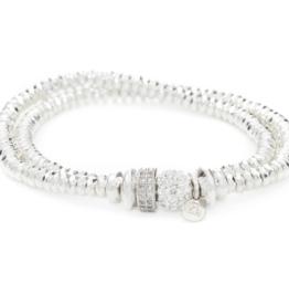 Hillberg & Berk Double Wrap Bracelet