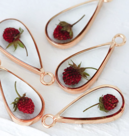 Bronze & Butterflies Wildberry Necklace