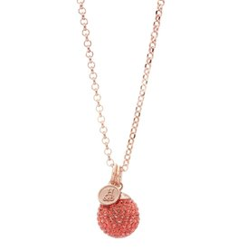 Hillberg & Berk Sparkle Ball Long Necklace Pendant