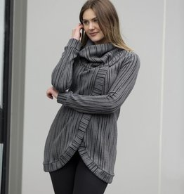 Blondie Cross Front Sweater Whistler