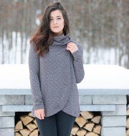 Blondie Cross Front Sweater Heirloom