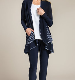 Sympli In Stock 2020 Outline Cardi, Pattern - In Stock 2020