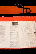 Outpak Blue Print Plan Bag