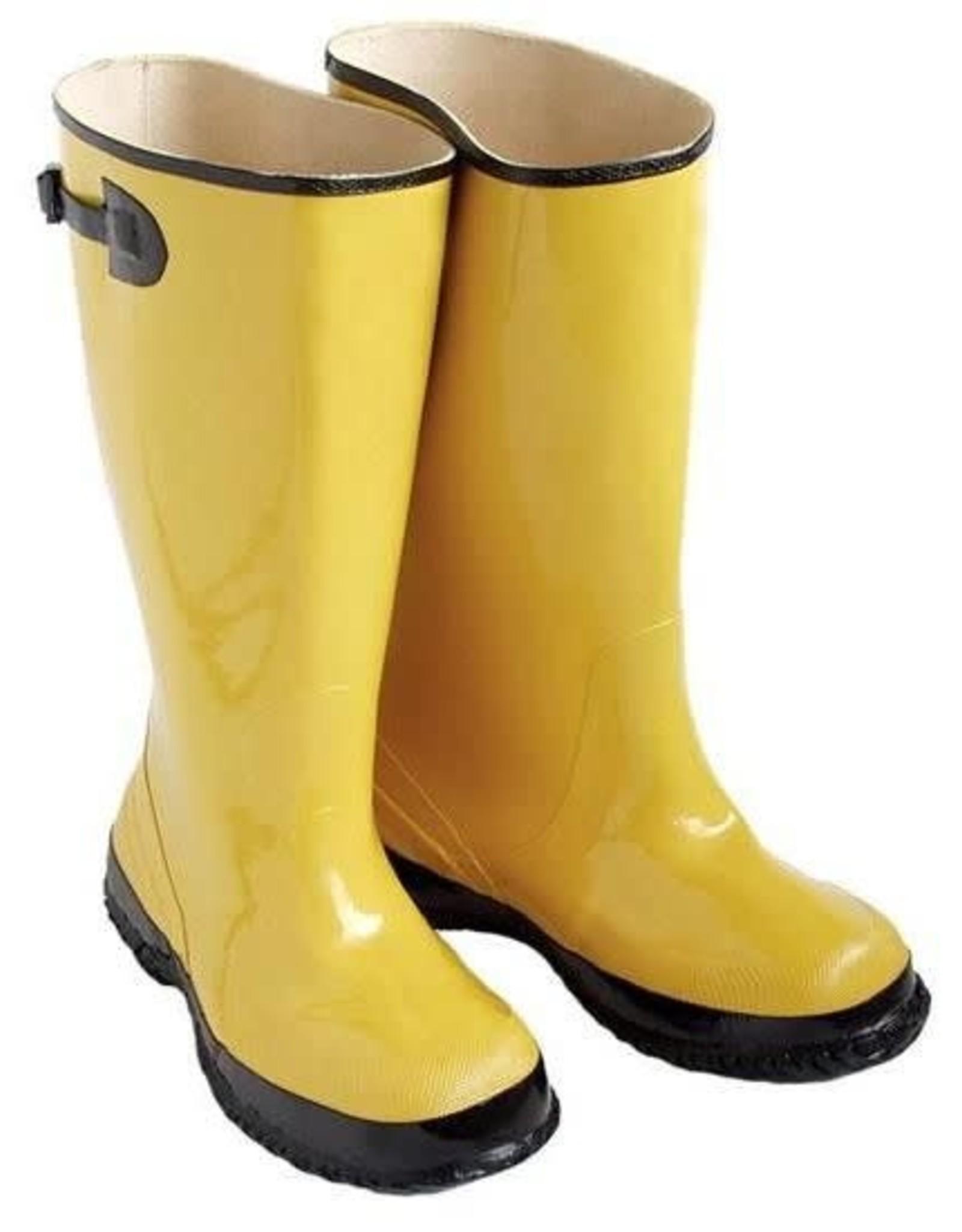 Seattle Boots, Yellow w/Fabric Lining, SZ. 11