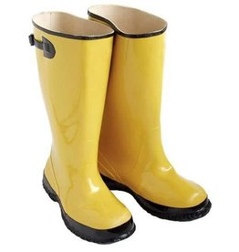 Seattle Boots, Yellow w/Fabric Lining, SZ. 11