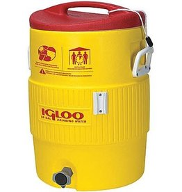 Igloo Cooler, 10 Gal. Portable 4101 Yellow/Red